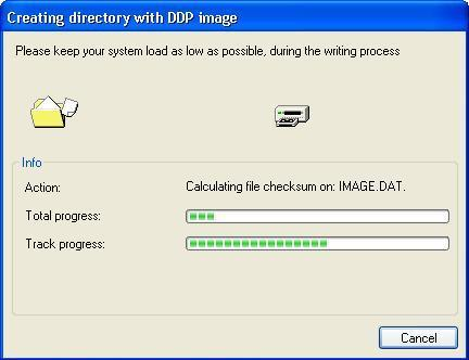 Creating directory with DDP Image