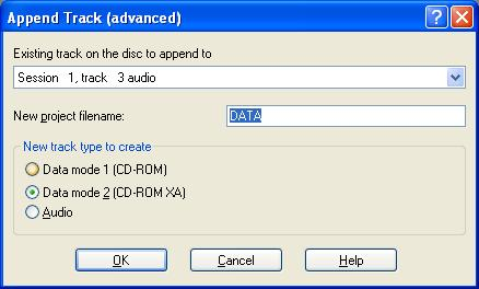 Append Project Name
