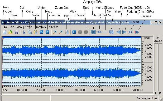 How to guide edit audio files with gear audio editor gear software