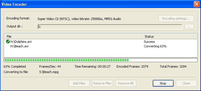 video encoding software